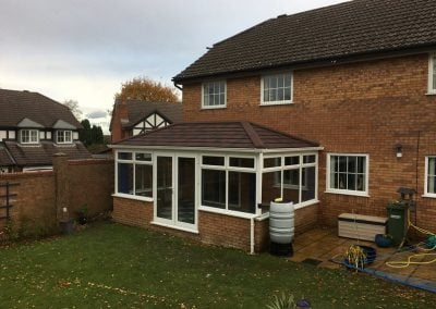 Tiled Conservatory Roof – West End, Southampton
