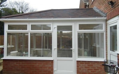 Tiled Roof Conservatory & Garage – Fareham, Hampshire