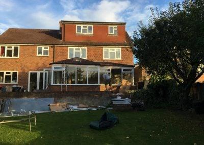 Tiled Conservatory Roof – Borehamwood Hertfordshire