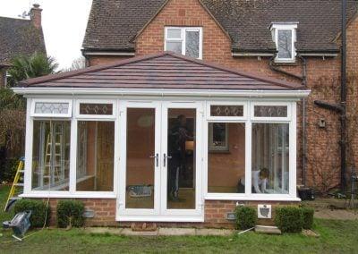 Tiled Conservatory Roof –  Chenies, Bucks