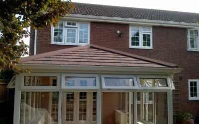 Tiled Conservatory Roof – Hayling Island