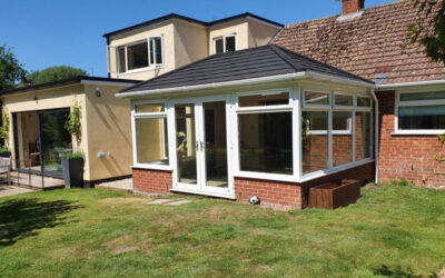 Edwardian Style Supalite Roof – Whitchurch