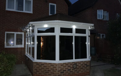 Tiled Conservatory Roof – Colden Common, Winchester