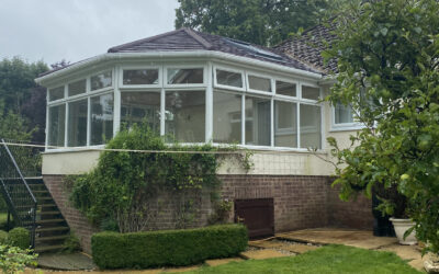Victorian Tiled Conservatory Roof – Brinkworth, Chippenham